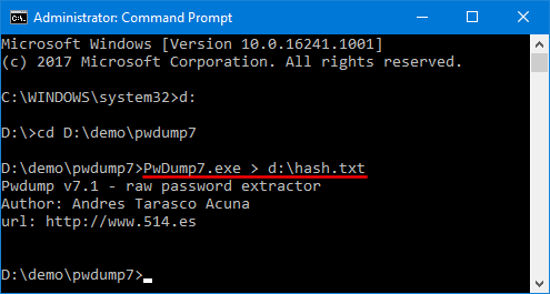 Crack Windows 10 Password using John the Ripper